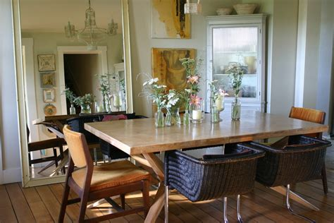 Large Dining Room Ideas Stupefying Large Silk Flower Arrangements Decorating Ideas Images In Dining Room Eclectic Design