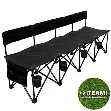folding soccer bench best portable soccer team bench reviews