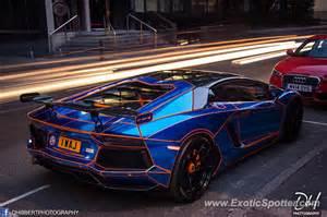 Lamborghini Manchester Lamborghini Aventador Spotted In Manchester United