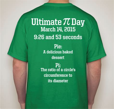 design a shirt to raise money ultimate pi day t shirts raise funds for unicef custom ink