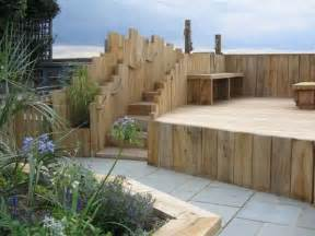 wooden garden sleepers yes or no to railway sleepers in