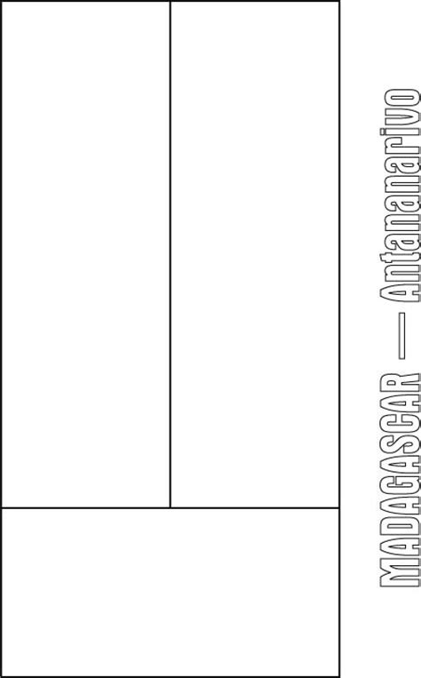 madagascar flag coloring page download free madagascar