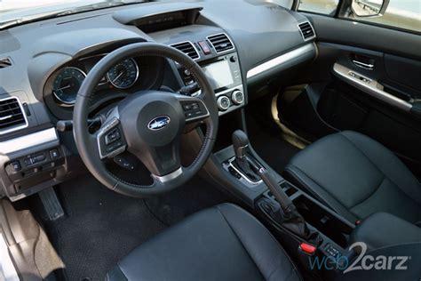 2015 Subaru Impreza Interior by 2015 Subaru Impreza 2 0i Limited Review Web2carz