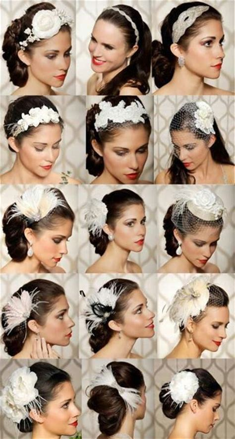 gatsby themed hairpieces gatsby inspired hair accessories great gatsby theme