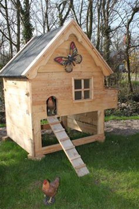 kippenhok met bouwtekening landleven kippenhok
