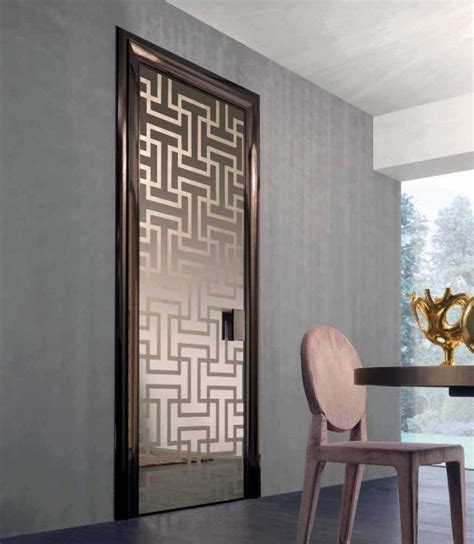 modern glass door interior doors styles matching of dominant designing