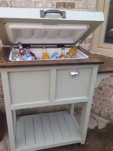 Diy Patio Cooler Stand by Diy Cooler Stand Things To Make