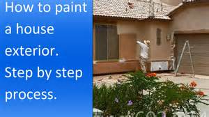 how to paint a house exterior how to paint exterior of a stucco house youtube
