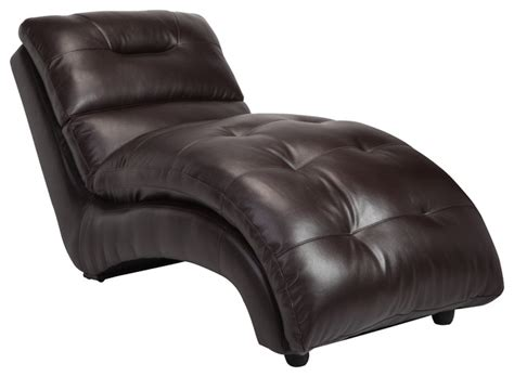 Chaise Lounge Indoor Leather Faux Leather Lounge Chaise Contemporary Indoor Chaise Lounge Chairs By Furniture
