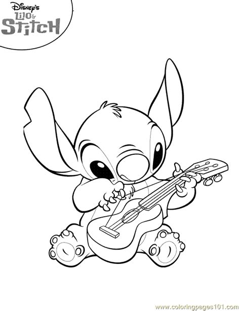 lilo and stitch coloring pages to print coloring pages lilo stitch coloring page 04 cartoons