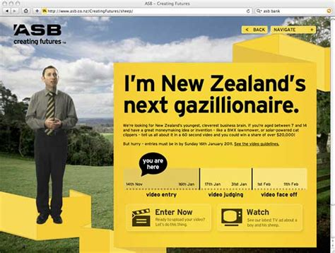 asb bank website new visual trends in retail banking websites