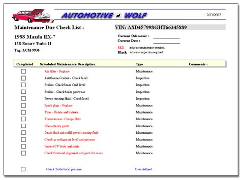 List Of Automotive Services by Software To Manage Your Car Maintenance Schedule Or Car Service Schedule