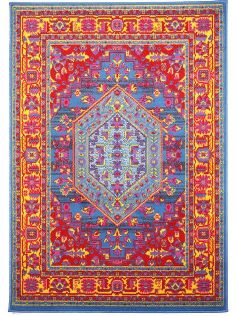 Teppiche Orientalisch Modern by Benuta Teppich Vintage Modern In Rot Blau Und Gr 252 N Ab 9 95