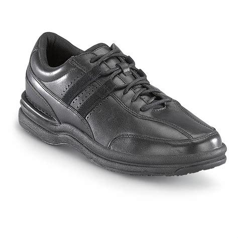 s rockport 174 works slip resistant walking shoes