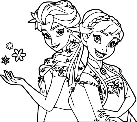 frozen coloring page frozen fever and snow coloring page wecoloringpage