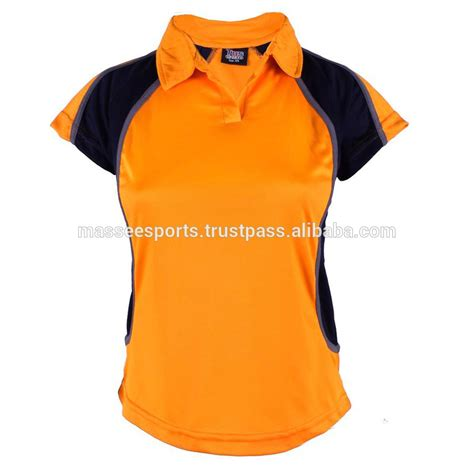 Polo Shirt Women Two Colors White Collar Design   Buy Polo