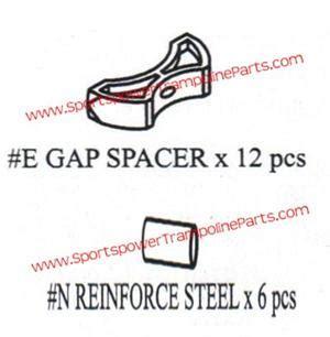 gap spacers for the 12 sportspower tr 126com glz set of