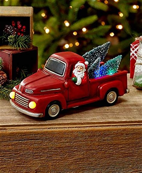 red christmas vintage pick ups for sale vintage truck with tree celebrate decorate
