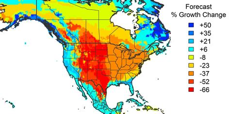 usa map temperature american forests unlikely to save us from climate