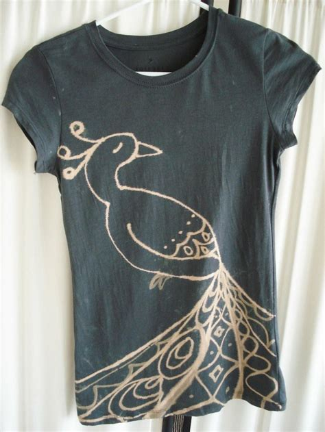 design t shirt with bleach bleaching t shirts personal style pinterest