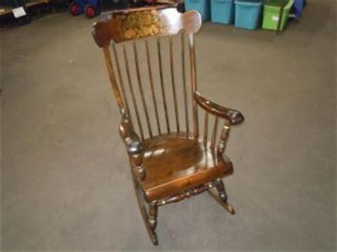 antique ethan allen rocking chair vintage ethan allen barnstable rocking chair solid pine