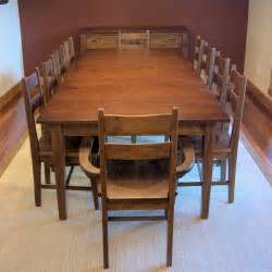 dining room tables for 10 dining room table that seats 10 marceladick