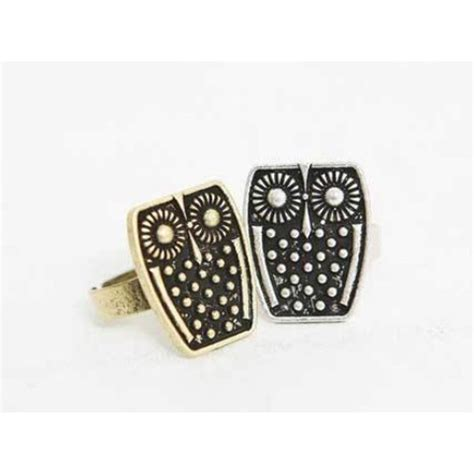 Cincin Vintage Kode A15 cincin burung hantu drhnetonline