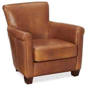 Armchairs Accent Chairs Irving Leather Armchair Stetson Traditional