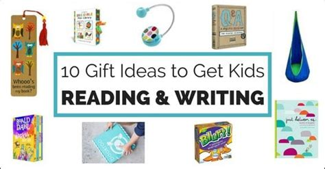 themes list read it write it tell it 10 great gift ideas to get kids reading and writing