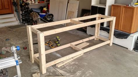 build your own work bench how to build a sturdy workbench inexpensively