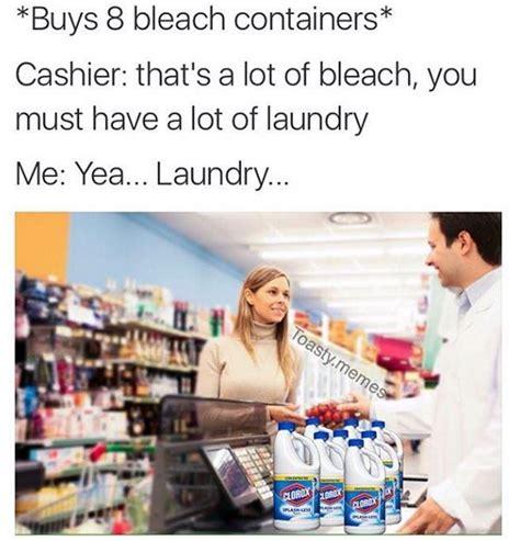buys  bleach containers bleach drinking   meme