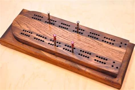 How To Make A Cribbage Board My How To Make