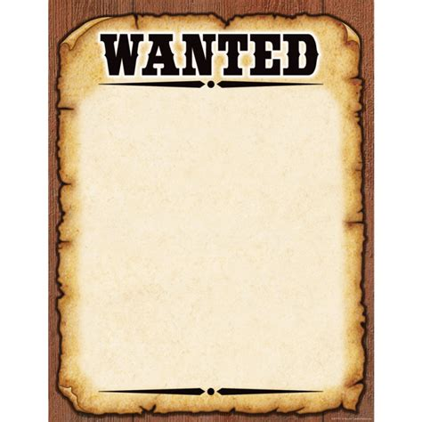 Template Wanted Poster Template Most Wanted Template Docs