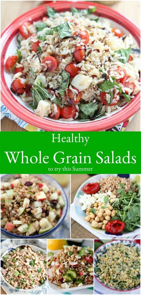 whole grains salad 12 healthy whole grain salad recipes to try this summer