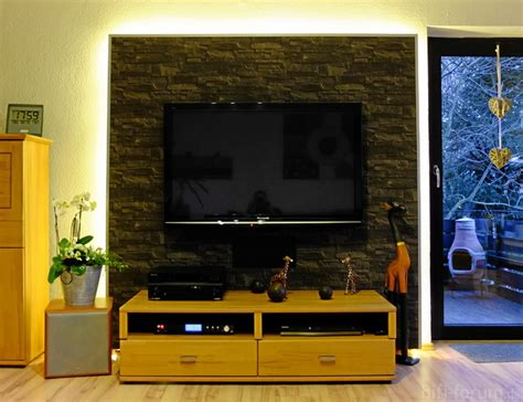 Fernseher Wand Gestalten by Bilder Eurer Panasonic Plasmas Panasonic Hifi Forum