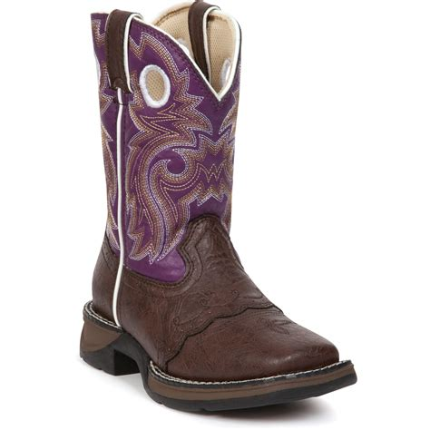 boots purple durango s li l flirt purple cowboy boots qc supply