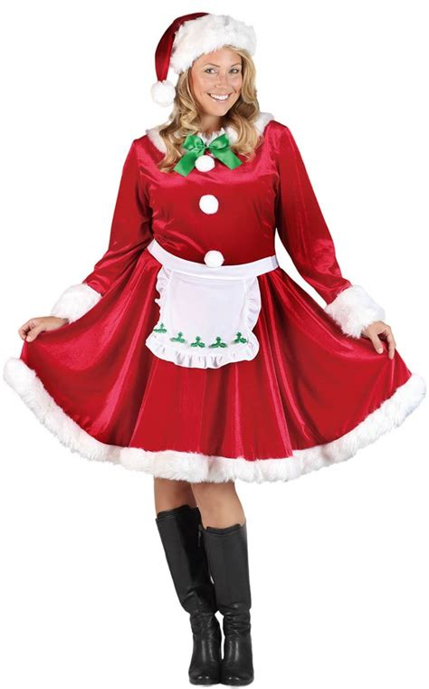 plus size mrs santa claus costume costume craze