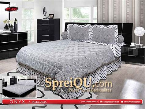 Sprei My King Sprei All New My Onyx King 180x200 Spreiqu Sidoarjo