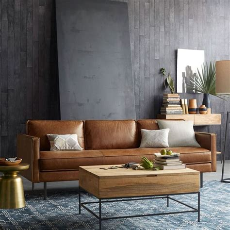 brown modern sofa best 25 leather sofas ideas on leather sofa
