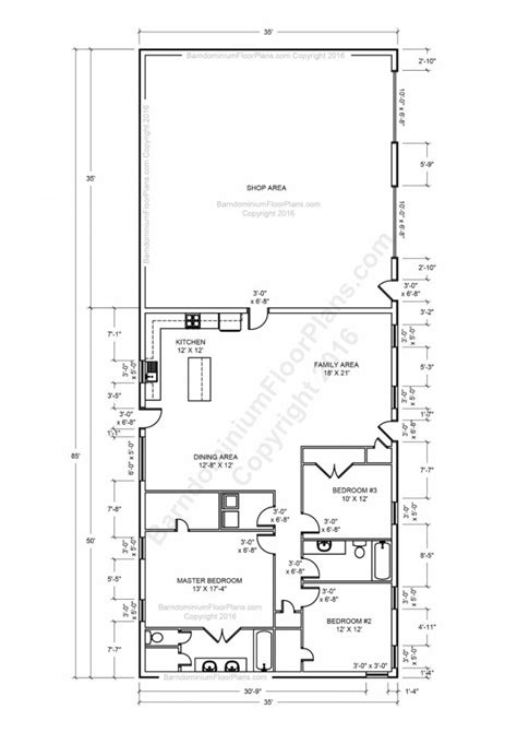 floor enticing metal building floor plans with living