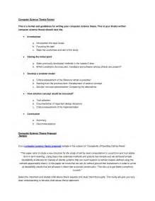 Science Essay Format by Computer Science Thesis Format
