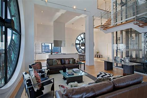 modern nyc apartments clock tower penthouse apartment in brooklyn new york