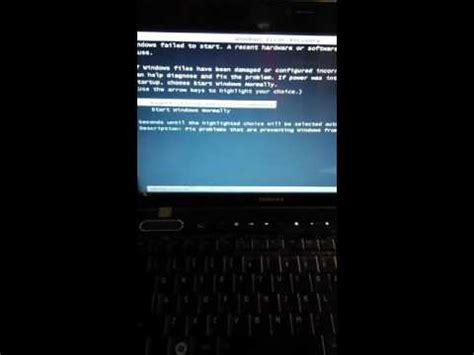 blue screen toshiba satellite won t boot up