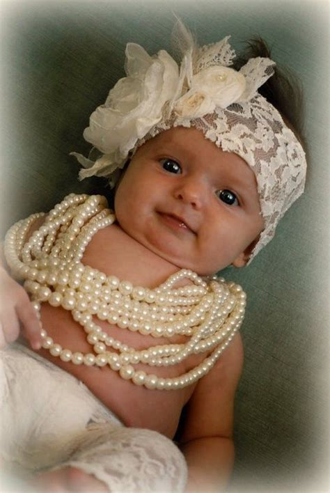 vintage lace handcrafted baby headband by cozettecouture 37 best images about baby headbands hats on