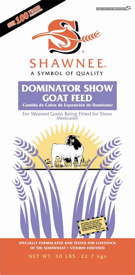 dominator goat shawnee milling