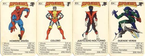 imagenes retro super heroes cartas super heroes marvel y dc comic retro im 225 genes