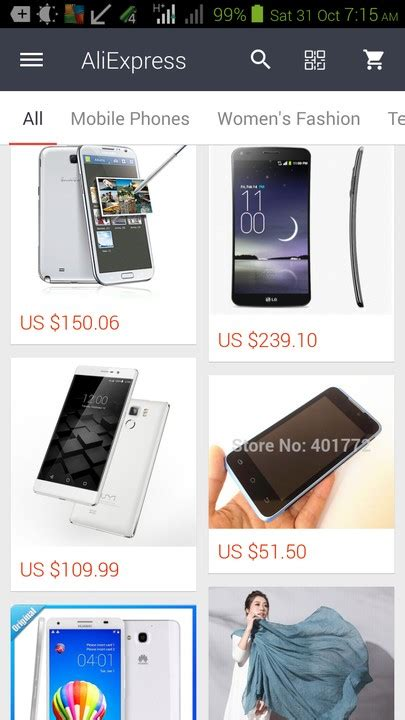 aliexpress mobile application phones nigeria