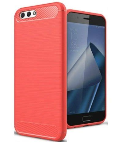 Frosted Tpu Asus Zenfone 4 Max Zc520kl geborstelde tpu cover asus zenfone 4 max 5 2 zc520kl rood case2go nl case2go