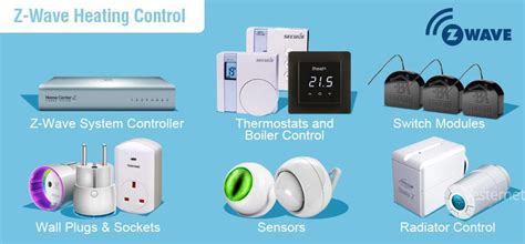 home automation heating z wave vesternet