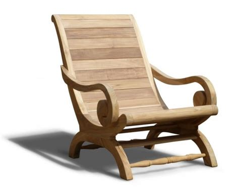 plantation chairs outdoor teak planters lazy chair